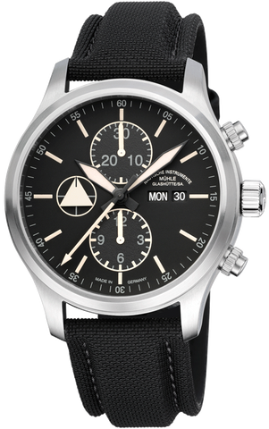 Muhle Glashutte Watch Terranaut I Trail Stainless Steel