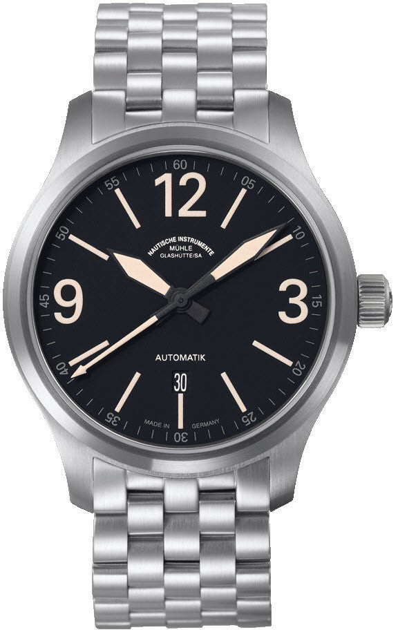 Muhle Glashutte Terranaut II Trail Stainless Steel D