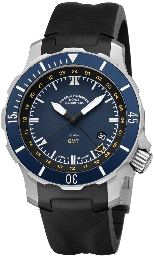 Muhle glashutte watch seebataillon gmt m1 28 62 kb watch for Muhle watches