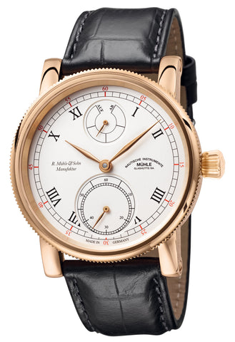 Muhle Glashutte Watch Robert Muhle Power Reserve Red Gold Limited Edition D