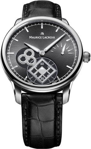 Maurice Lacroix Watch Masterpiece Square Wheel Mens