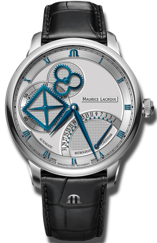 Maurice Lacroix Watch Masterpiece Square Wheel Retrograde