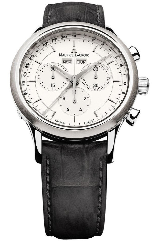 Maurice Lacroix Watch Les Classiques Round Day Date Month Chrono