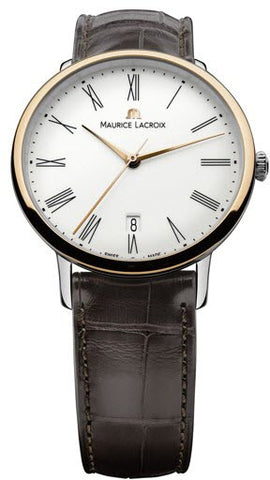 Maurice Lacroix Watch Les Classiques Round Gents Date Tradition