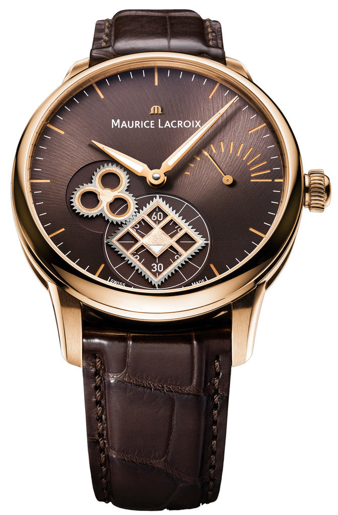 Maurice Lacroix Roue Carre Seconde 18ct Gold D