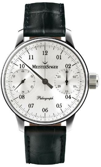 MeisterSinger Watch Paleograph Silver Limited Edition D