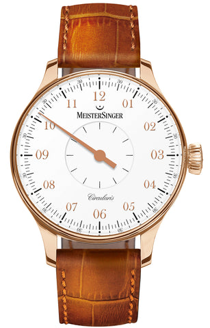 MeisterSinger Watch Circularis Gold White Limited Edition