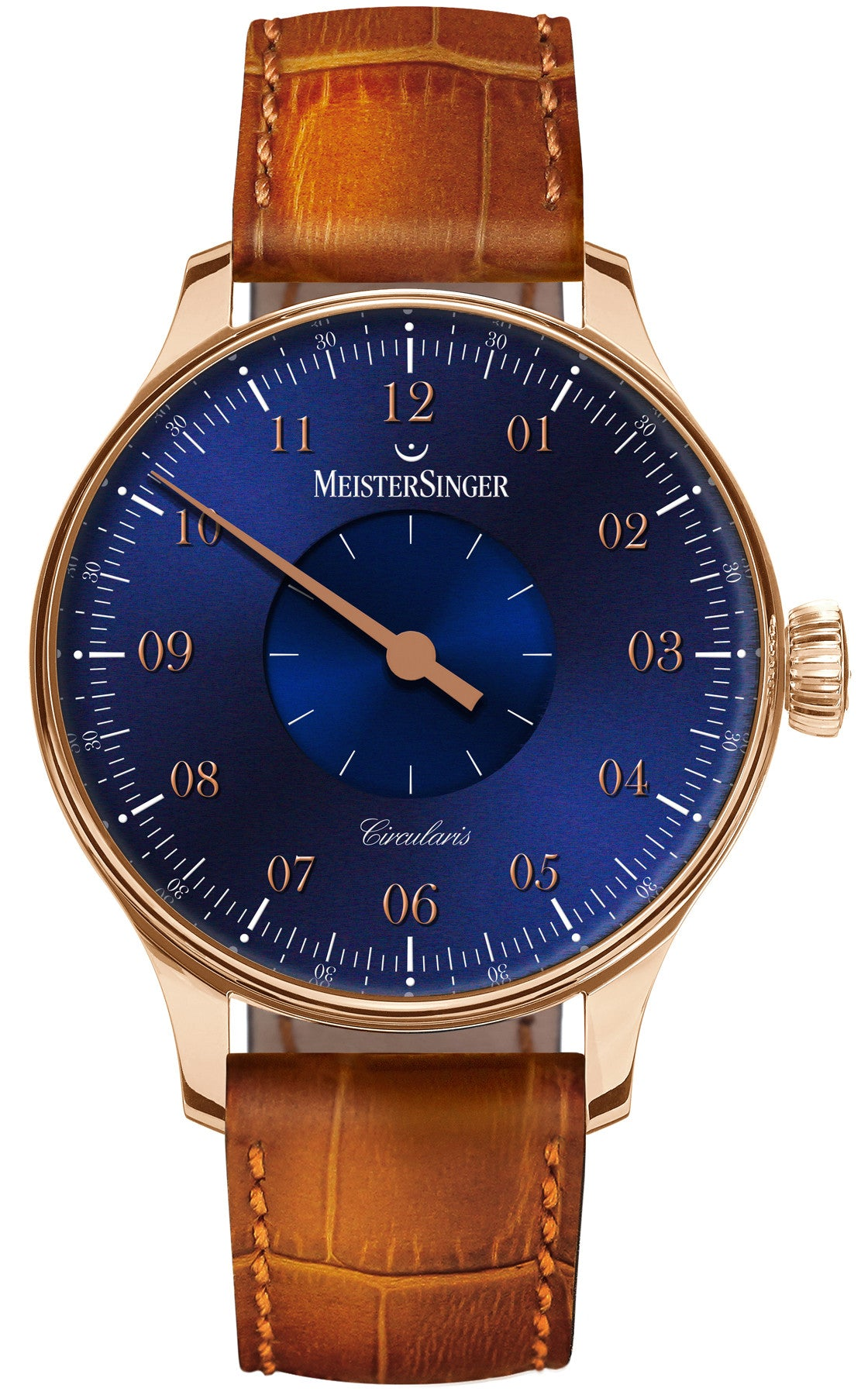MeisterSinger Watch Circularis Gold Blue Limited Edition