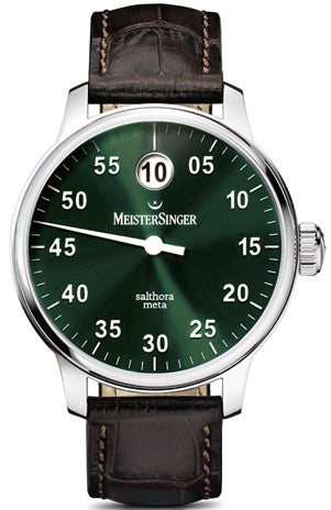 MeisterSinger Watch Salthora Jumping Hour