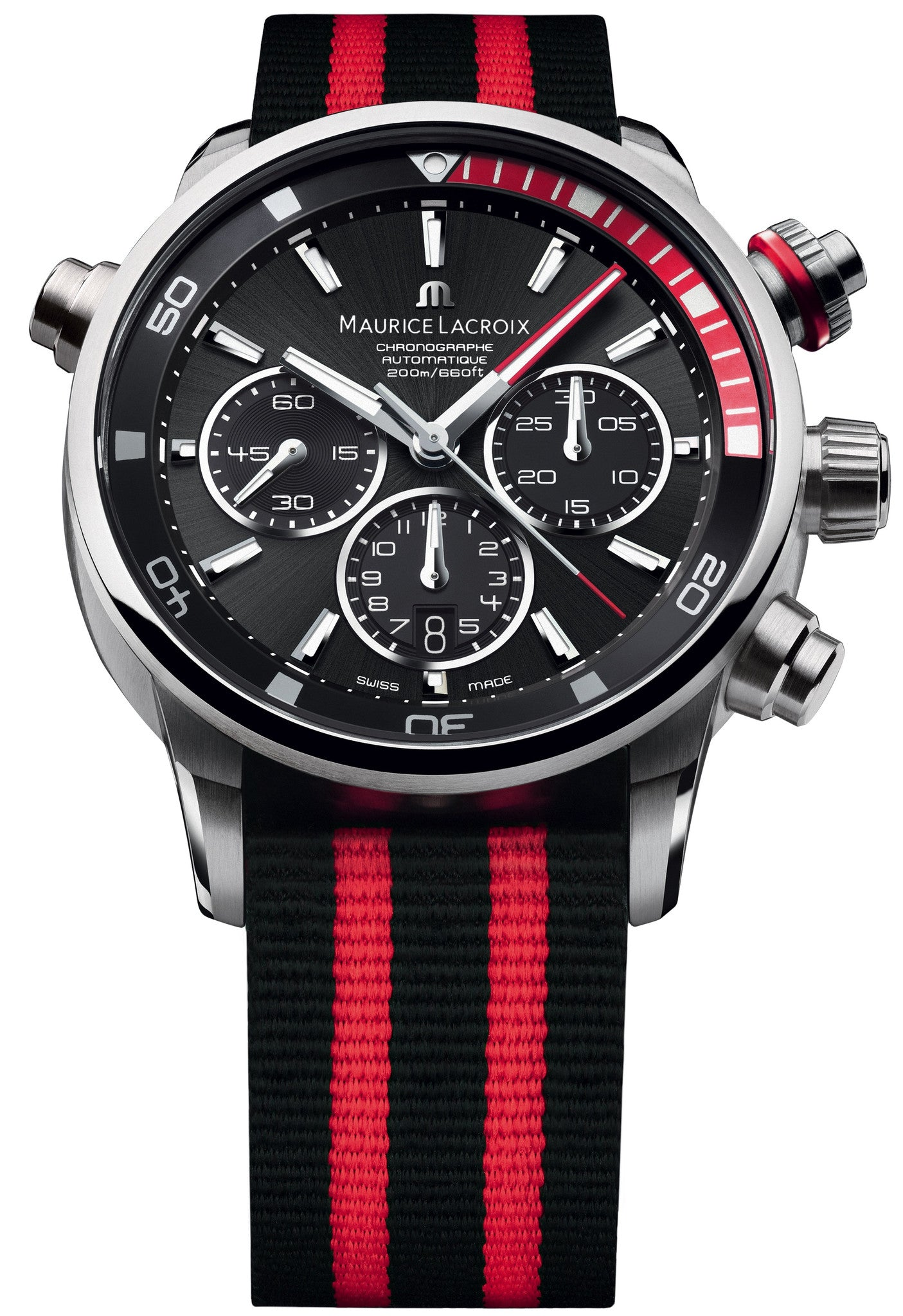 Maurice Lacroix Watch Pontos S Red  Mens