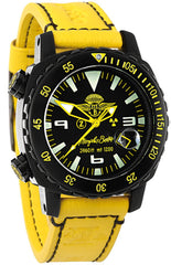 Memphis Belle Watch T1200 Super Professional Yellow