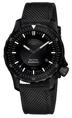 Muhle Glashutte Watch Sea Timer Black Motion