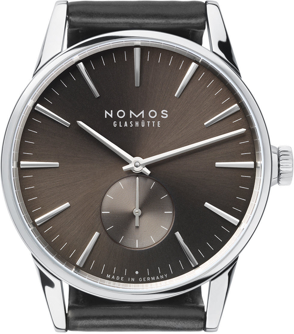 Nomos Glashutte Watch Zurich Braungold