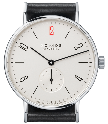 Nomos Glashutte Watch Tangente 38 for Doctors Without Borders USA