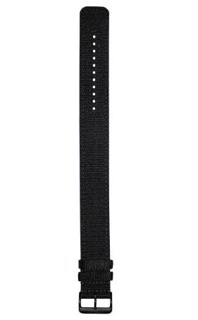 Dietrich Strap Nylon Straight Black