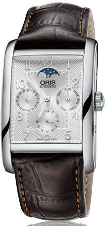 Oris Watch Rectangular Complication Leather