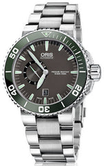 Oris Watch Aquis Small Second Date Bracelet