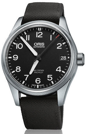 Oris Watch Big Crown ProPilot Date Black Textile