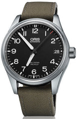 Oris Watch Big Crown ProPilot Date Olive Textile