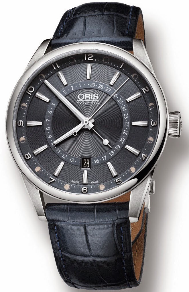 Oris Watch Tycho Brahe Pointer Moon Leather Limited Edition