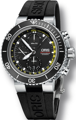 Oris Watch Aquis Chrono Depth Gauge Rubber Set
