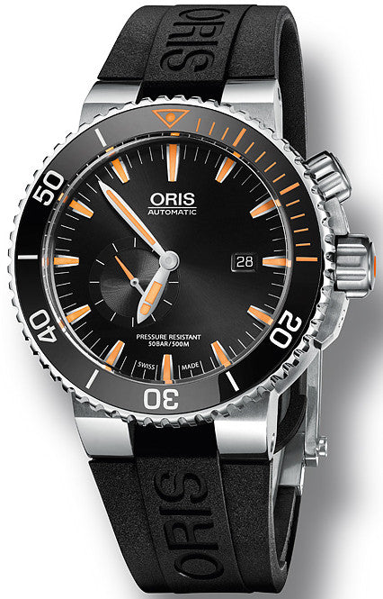 Oris Watch Aquis Carlos Coste Limited Edition IV Rubber