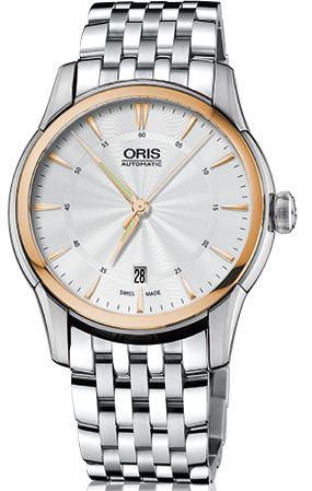 Oris Watch Artelier Date Diamonds Bracelet