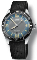 Oris Watch Divers Sixty Five Blue Rubber