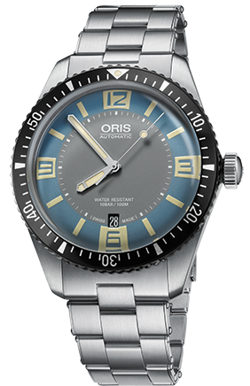 Oris Watch Divers Sixty Five Blue Bracelet