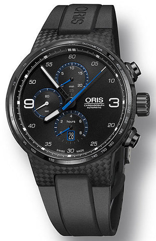 Oris Watch Williams Carbon Chrono Date Rubber