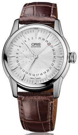 Oris Watch Artelier Small Second Pointer Date Leather
