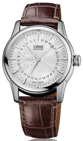 Oris Watch Artelier Small Second Pointer Date Crocodile