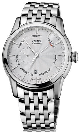 Oris Watch Artelier Small Second Pointer Day Date Bracelet