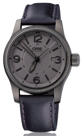 Oris Watch Big Crown Small Second Pointer Day Leather D