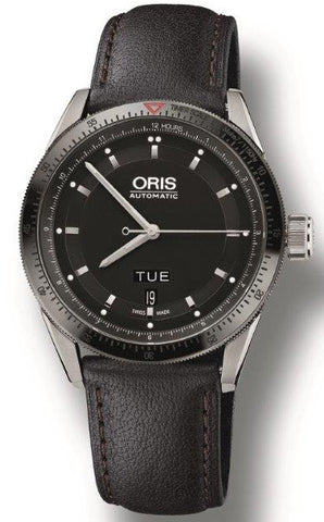 Oris Watch Artix GT Day Date Leather D