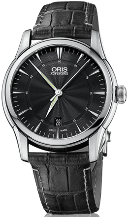 Oris Watch Artelier Date Leather