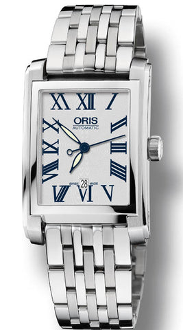Oris Watch Rectangular Date Bracelet D