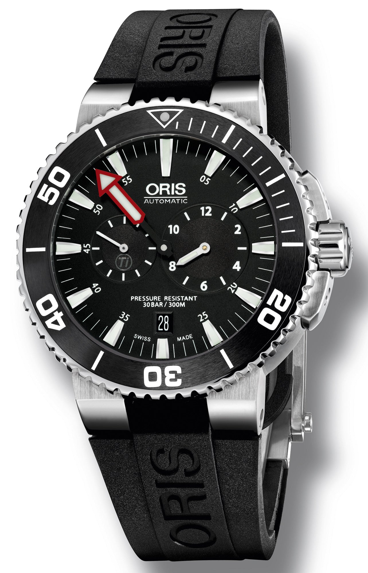 Oris Watch Aquis Regulateur Rubber