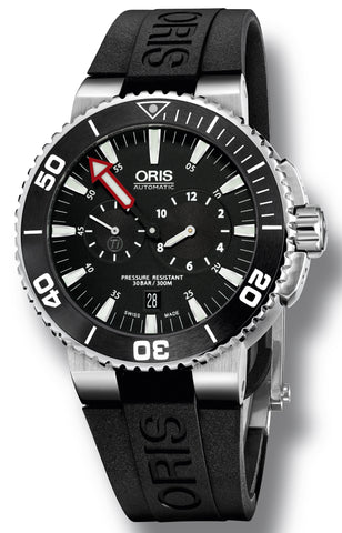 Oris Watch Aquis Regulateur Rubber D