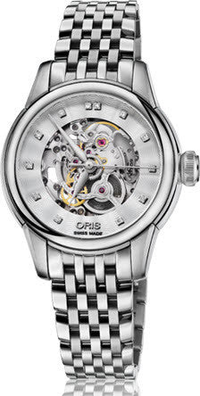 Oris Watch Artelier Lady Skeleton Bracelet