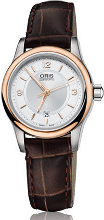 Oris Watch Classic Lady Date Leather