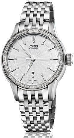 Oris Watch Artelier Lady Date Diamond Bracelet