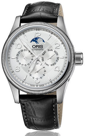 Oris Watch Big Crown Complication Leather