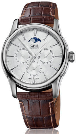 Oris Watch Artelier Complication Crocodile D