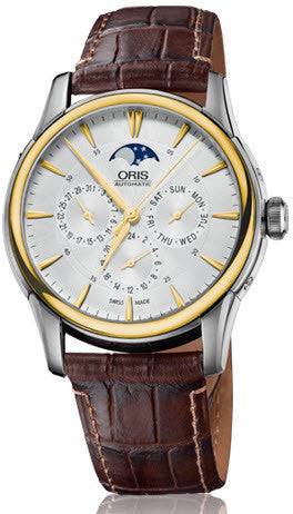 Oris Watch Artelier Complication Leather D