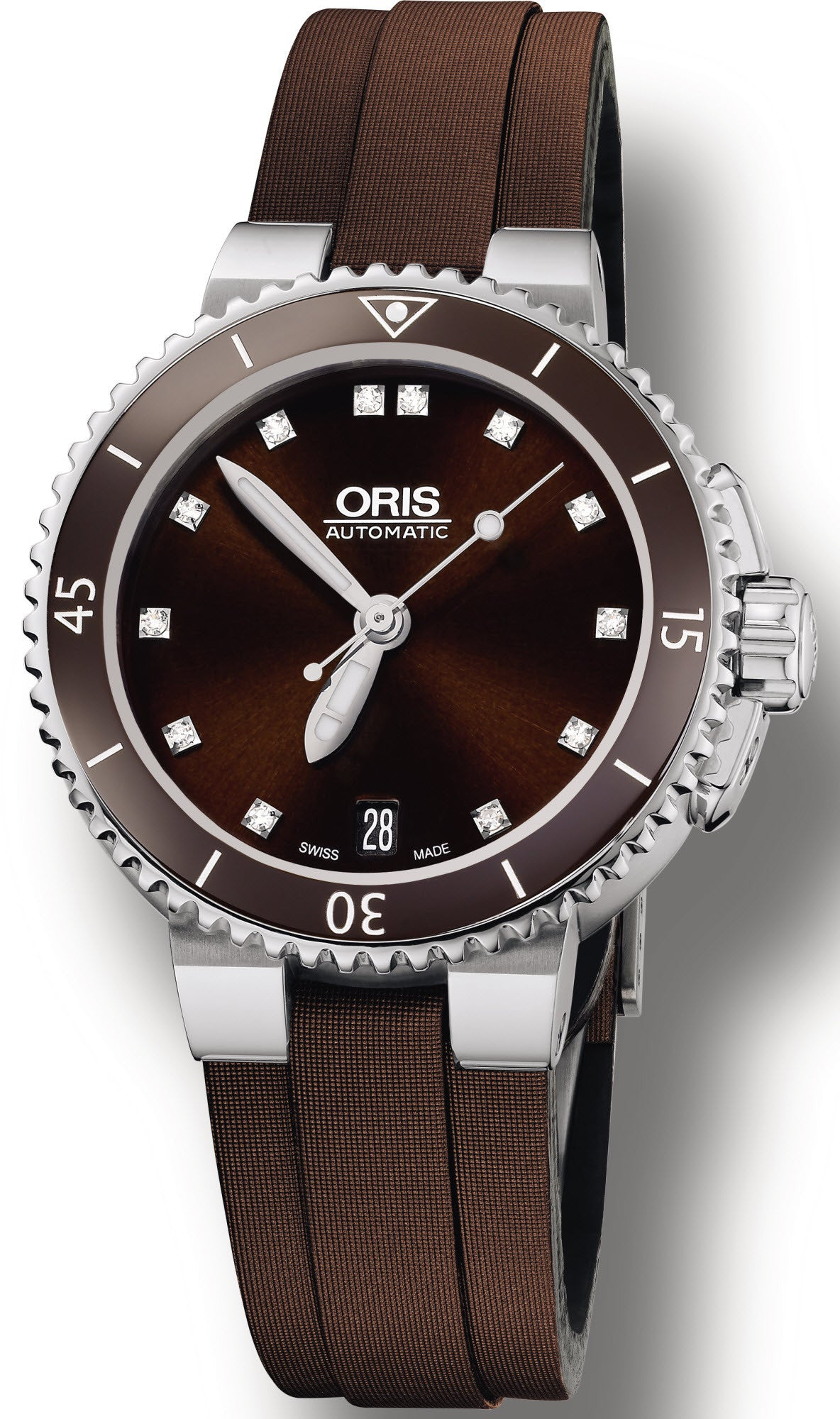 Oris Watch Aquis Date Leather