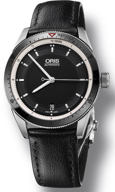 Oris Watch Artix GT Date Ceramic Leather D
