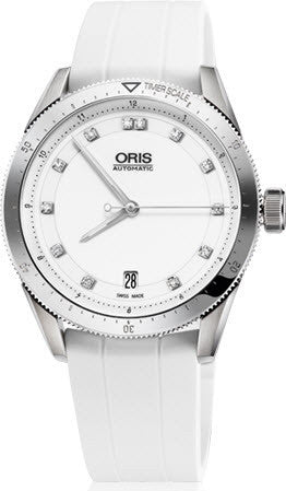 Oris Watch Artix GT Date White Rubber D