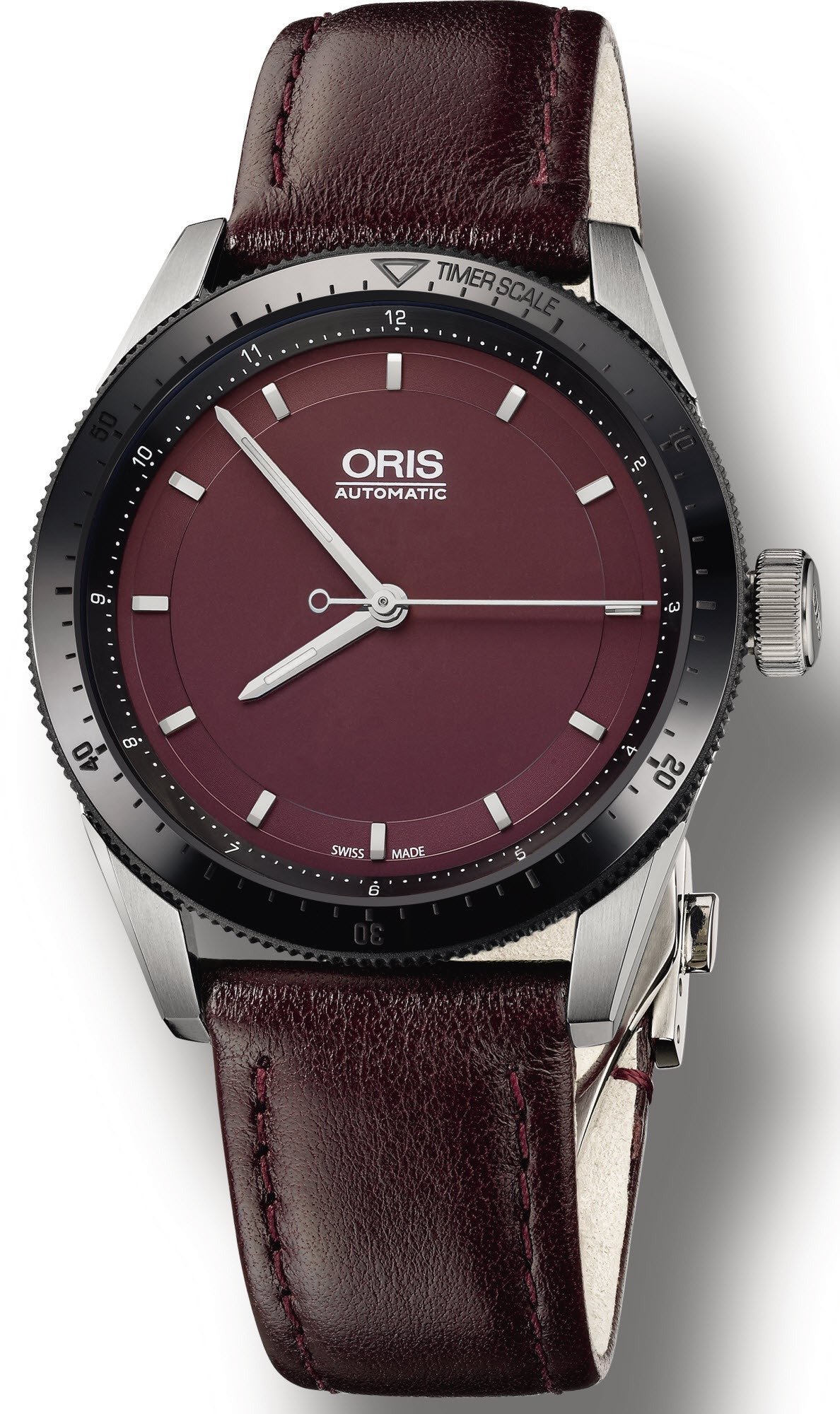 Oris Watch Artix GT Date Black Ceramic Leather D