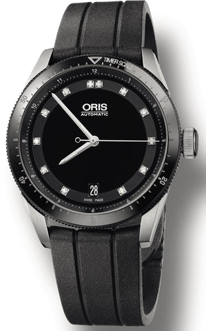 Oris Watch Artix GT Date Diamond Ceramic Rubber D